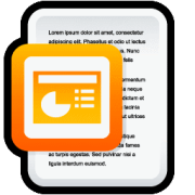 PowerPoint presentation icon